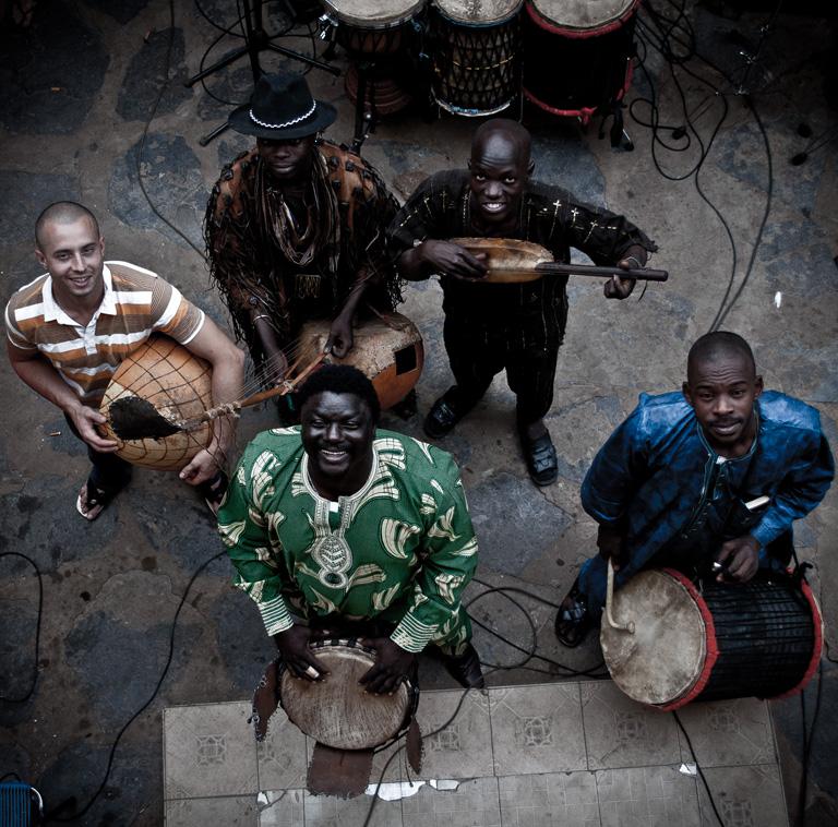Ecoutes Au Vert / Genève / Aventures sonores au grand air! / BKO QUINTET (Bamako, Mali) LIVE ON RFI + TV5 MONDE (NOVEMBRE 2014) / 20097999