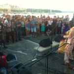 Ecoutes Au Vert / Genève / Aventures sonores au grand air! / BKO QUINTET (Bamako, Mali) LIVE à ECOUTES AU VERT aux BAINS DES PAQUIS 15-07-2014 / 47362905