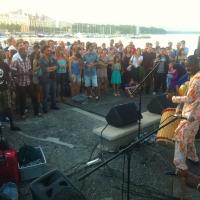 Ecoutes Au Vert / Genève / Aventures sonores au grand air! /  ECOUTES AU VERT aux BAINS DES PAQUIS: BKO QUINTET Concert Tradi-Moderne du Mali + COBEIA (Ecoutes au vert)  / 40468680