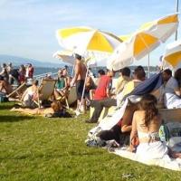 Ecoutes Au Vert / Genève / Aventures sonores au grand air! / Le Quai Baby Plage